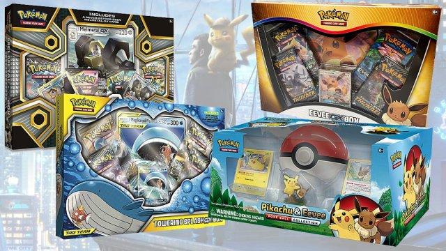 Pokemon Card Box Sets, Images: The Pokemon Company