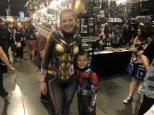 How cute are these Wasp and Antman siblings?