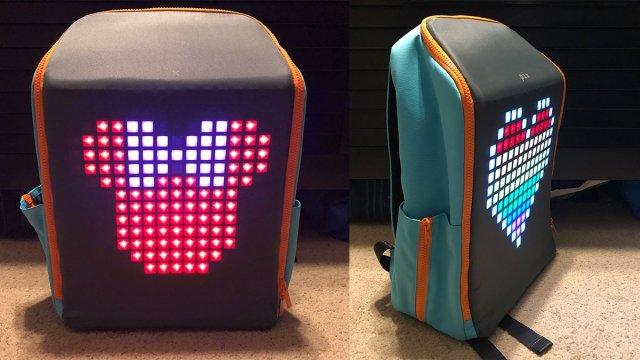 Front and side PIX Mini Backpack \ Image: Dakster Sullivan