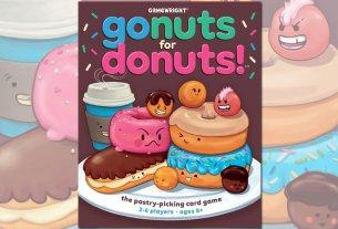 Go Nuts for Donuts, Image: Gamewright