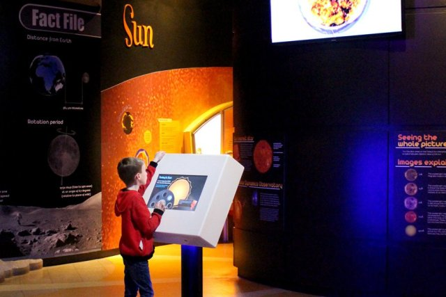 Learning About the Sun at the National Space Centre, Image: Sophie Brown
