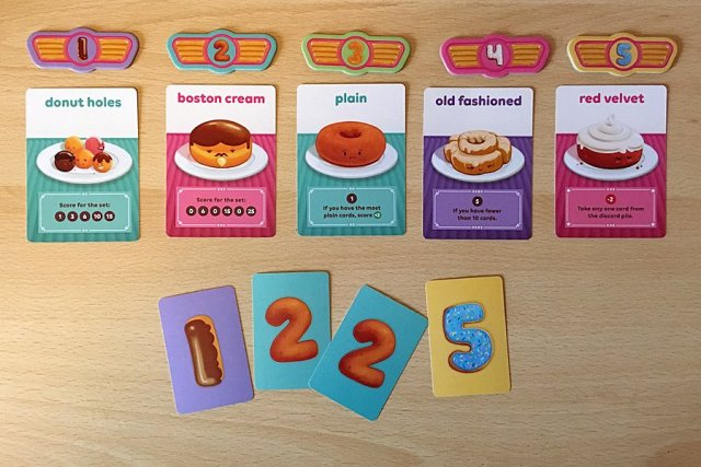 Players Select Their Donuts, One Player has Chosen Donut One, Two Players have Picked Donut Two, and One Player has Opted For Donut Five, Image: Sophie Brown