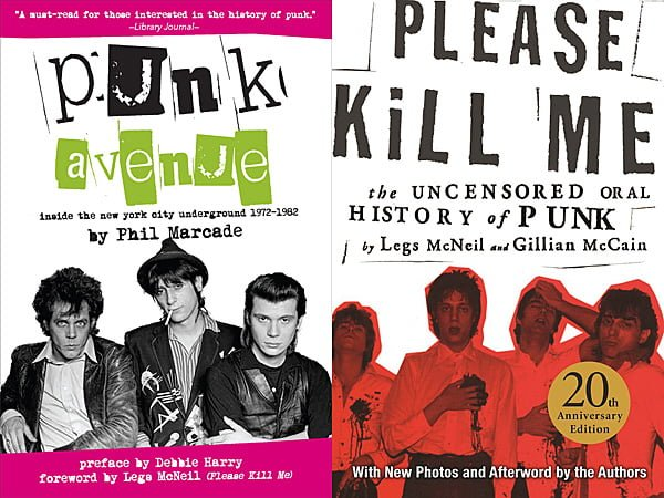 Punk Avenue and Please Kill Me, Images: Three Room Press and Grove Press