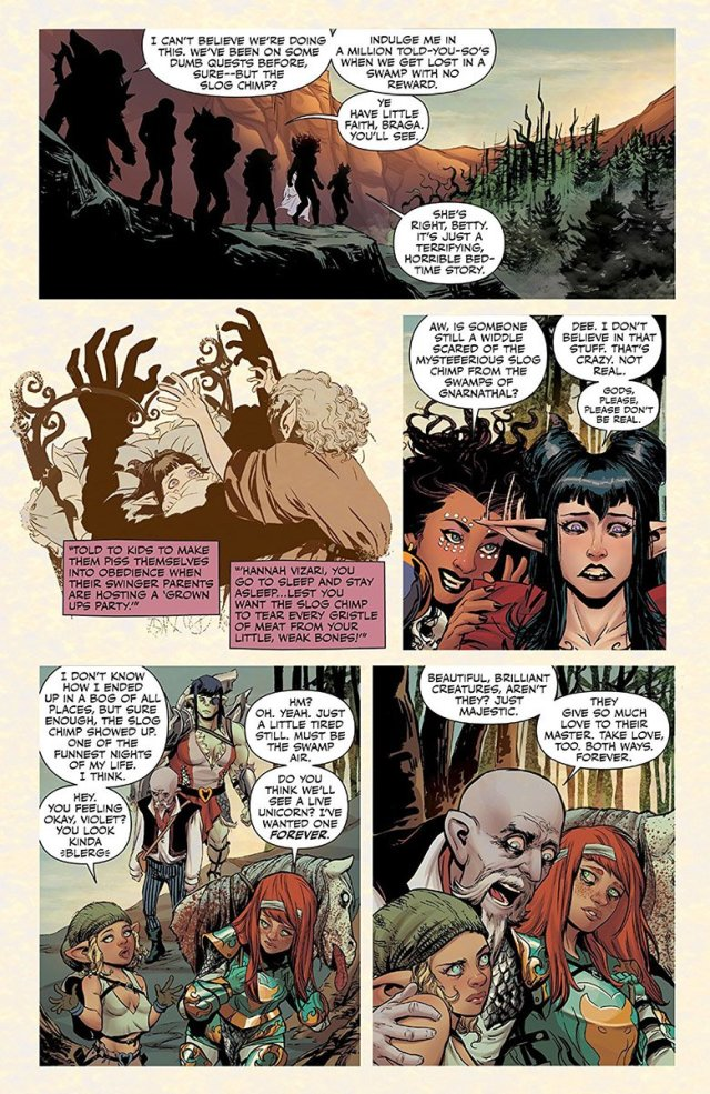 Rat Queens Swamp Romp page 6