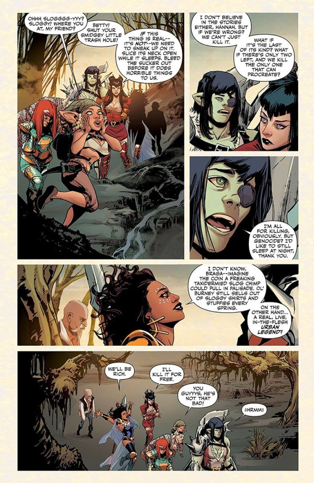 Rat Queens Swamp Romp page 7