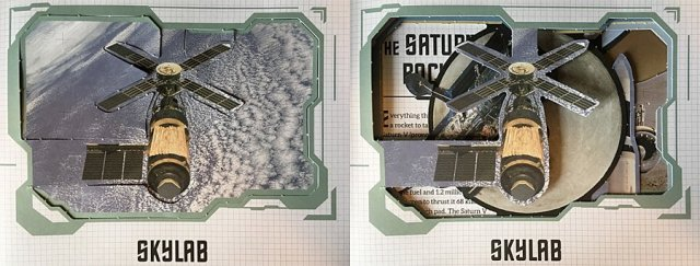 Skylab with Original Background Vs After Popping Out Shapes, Images: Sophie Brown