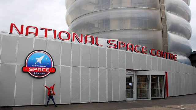 Visiting the National Space Centre, Image: Sophie Brown