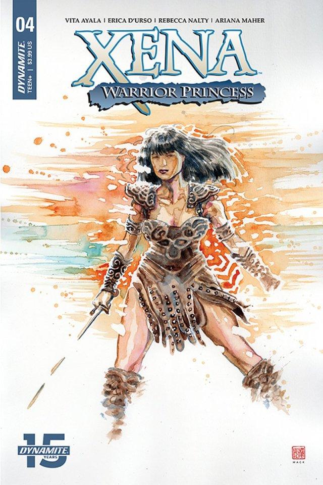 Xena Warrior Princess #4 cover