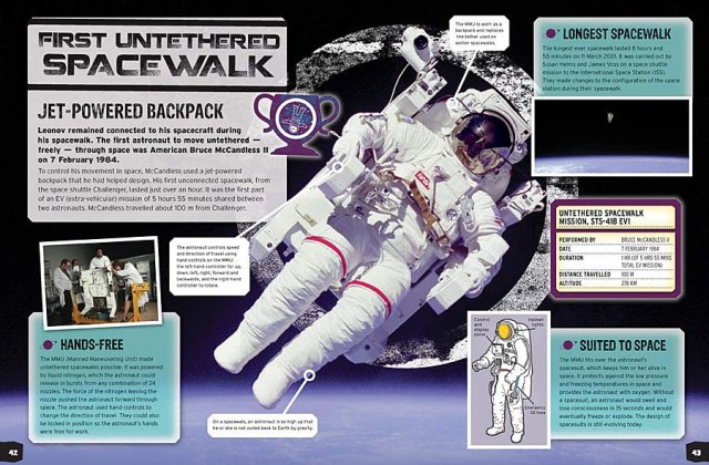 Sample Page from Space Record Breakers, Image: Carlton Kids