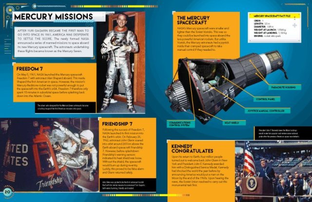 Sample Pages from Space Race, Image: Carlton Kids