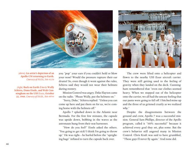 Sample Pages from The Apollo Missions for Kids, Image: Chicago Review Press