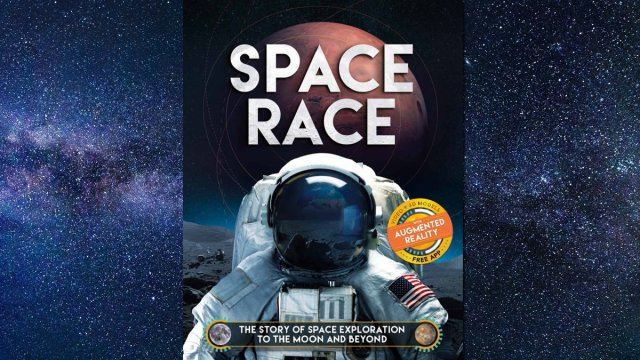 Space Race Cover Image: Carlton Kids, Background Image by O12 from Pixabay