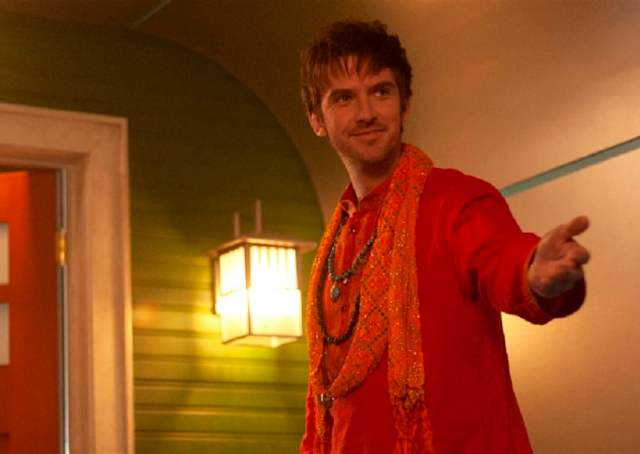 Dan Stevens as David Haller welcomes you to his commune
