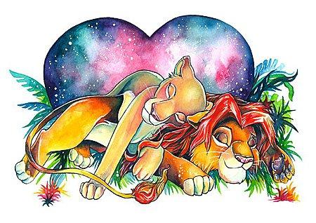 Lion King Art by Sezzadactyl, Image: Sezzadactyl