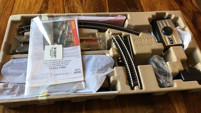 Opening the Hogwarts Express Electric Train Set Box, Image: Sophie Brown