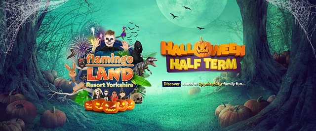 Halloween Half Term, Image: Flamingo Land Resort