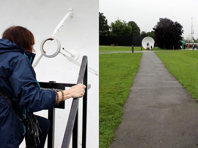 My Mother and Son Test the Whispering Dishes, Images: Sophie Brown