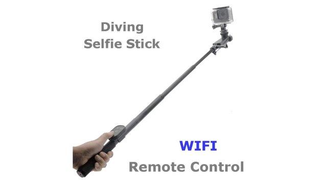 Tayogo Diving Selfie Stick Tayogo Waterproof Headphones \ Image: Tayogo