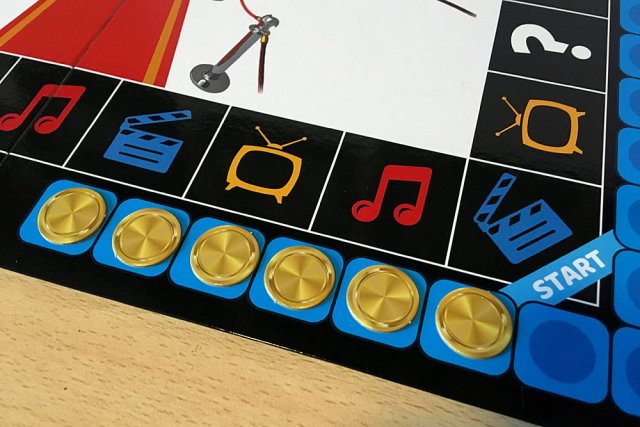 The Blue Player Has Collected Six Medal Tokens, Image: Sophie Brown