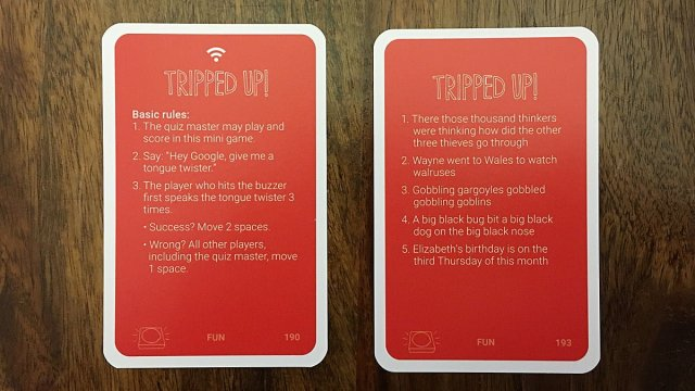 Tripped Up Cards, Image: Sophie Brown