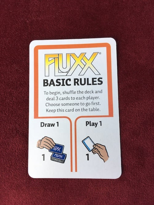 Basic Rules for Marvel Fluxx