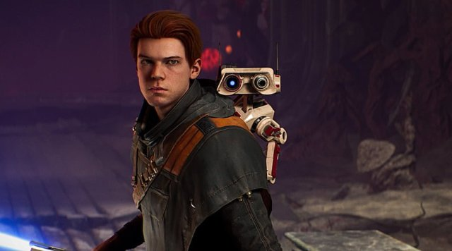 Cal and BD-1 in Jedi: Fallen Order, Image: EA