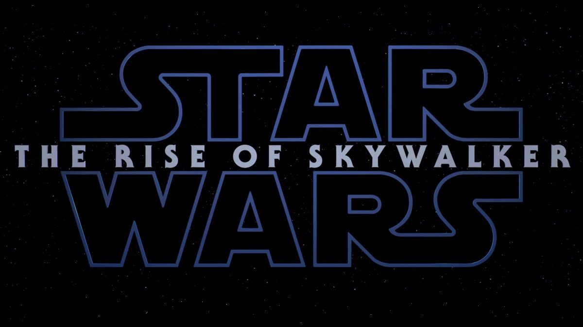 Star Wars: The Rise of Skywalker Logo, Image: Disney
