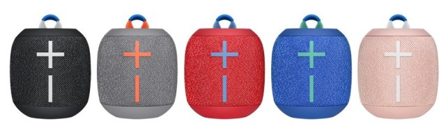 The Wonderboom 2 in all five color options, Images: Ultimate Ears