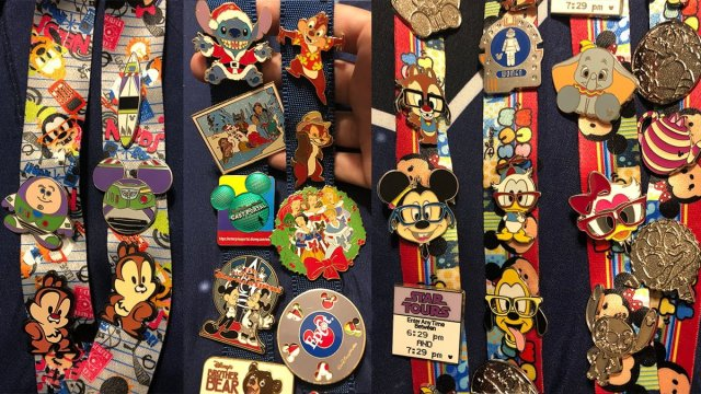 Disney Trading Pin Collection