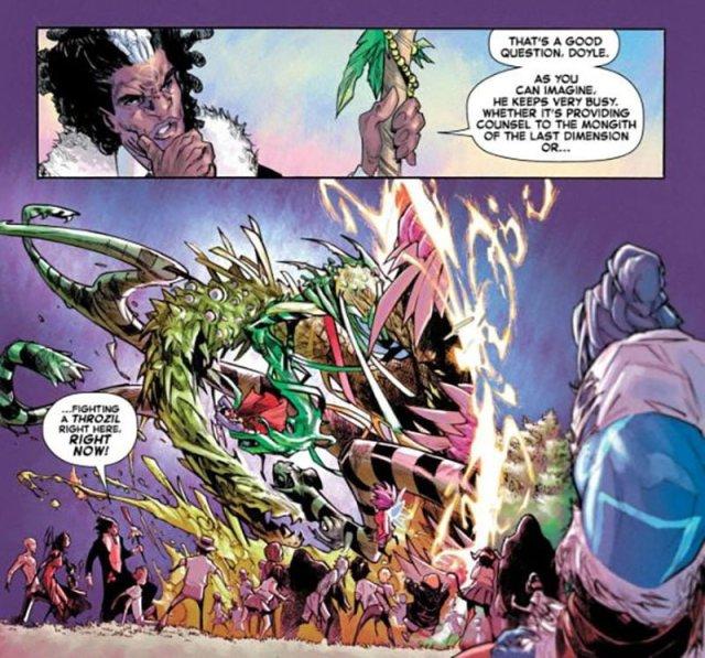 Strange Academy #1 Dr. Voodoo and Dr. Strange