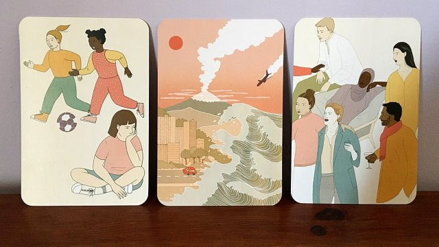 Children, Disasters, and People Cards, Image Sophie Brown