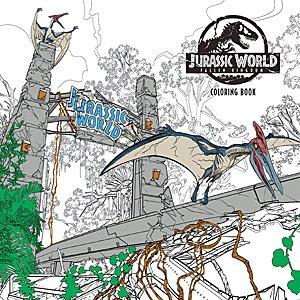 Jurassic World Fallen Kingdom Coloring Book, Image Dark Horse