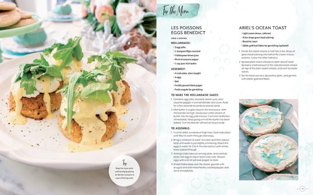 Little Mermaid Themed Menu Options, Image Insight Editions