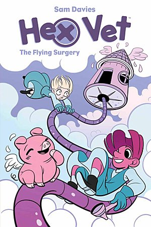 Hex Vet: The Flying Surgery, Image Boom