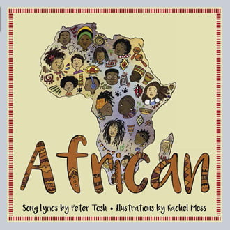 African Cover, Image LyricPop Series by Akashic Books