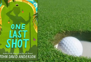 One Last Shot, Cover HarperCollins, Background by Golfer from Pixabay