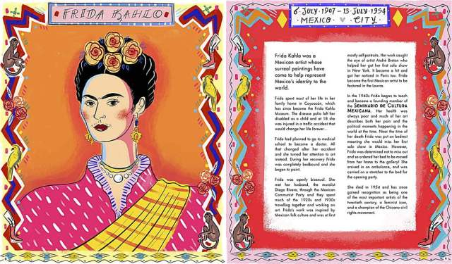 Queer Heroes Page Spread, Image Wide Eyed Editions