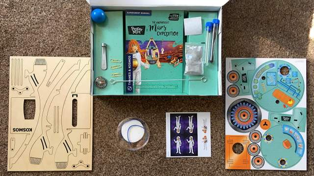 Magnificent Mars Expedition Contents, Image Sophie Brown