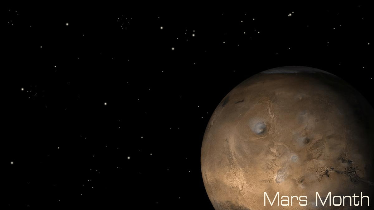Mars Month, Mars Image NASA
