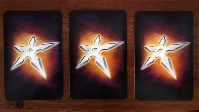 Throwing Star Cards, Image Sophie Brown