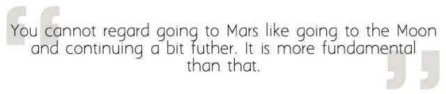 Going to Mars requires a fundamental shift in perspective, Image Sophie Brown