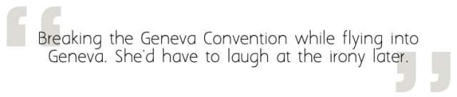 Nat Breaks the Geneva Convention, Image Sophie Brown