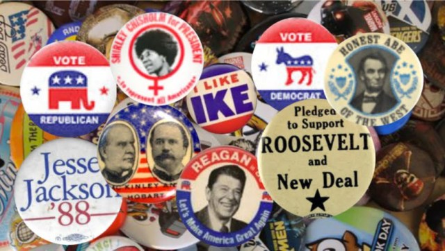 Political Buttonsexamples