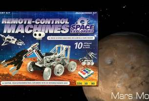 Remote Control Machines Space Explorers, Image Sophie Brown, Box Art Thames and Kosmos, Mars Image NASA