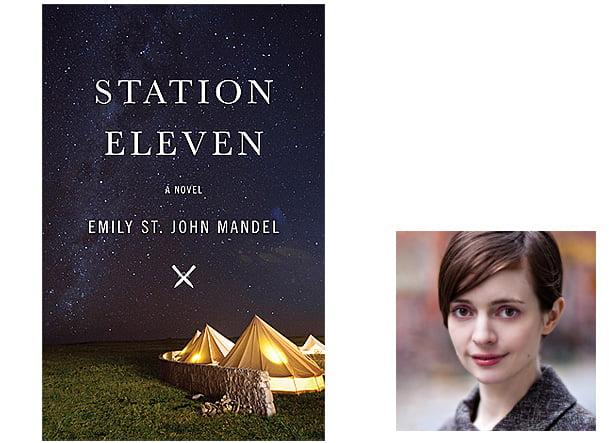 Station Eleven Cover, Image Penguin Random House, Author Image Emily St John Mandel