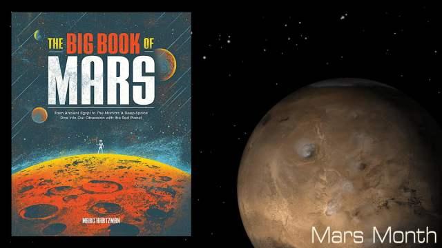 The Big Book of Mars, Image Quirk Books, Mars Image NASA