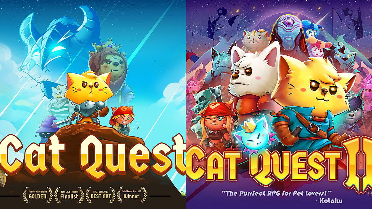 Cat Quest Series, Images The Gentlebros