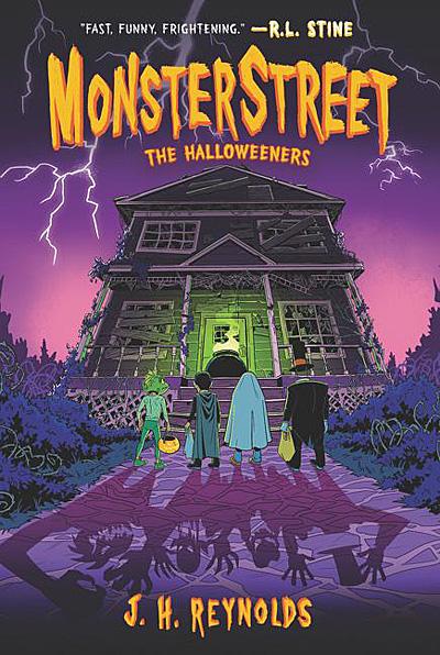 MonsterStreet 2, The Halloweeners, Cover Image Katherine Tegen Books