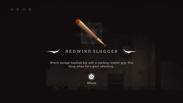 Peet unlocks a baseball bat, Image Serenity Forge