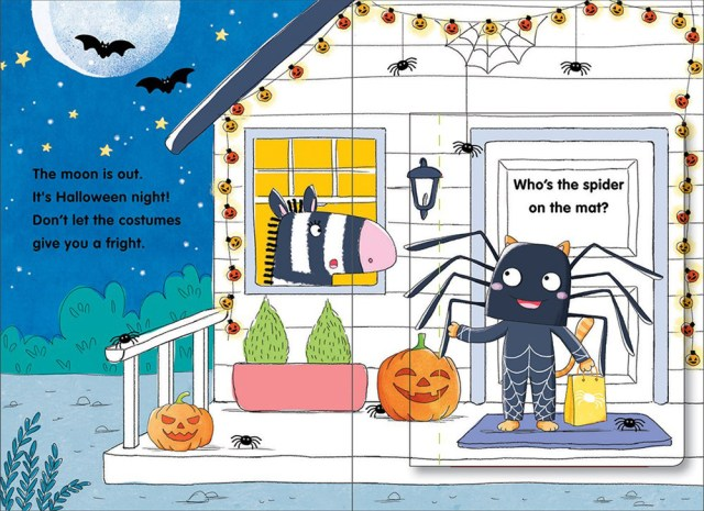 Halloween Hugs Page Spread, Image HarperCollins